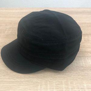 MOSSIMO Supply Co. Military Hat Black Cadet Patrol